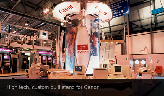 Canon Exhibition stand