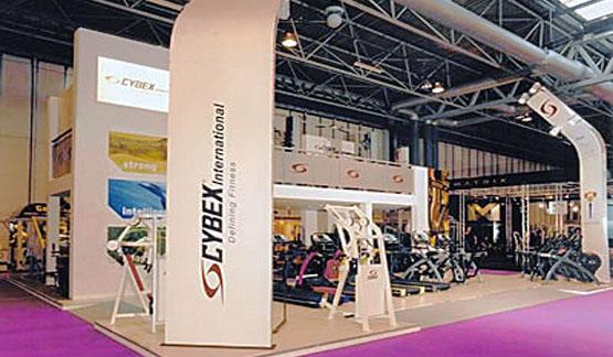 Cybex exhibition stand